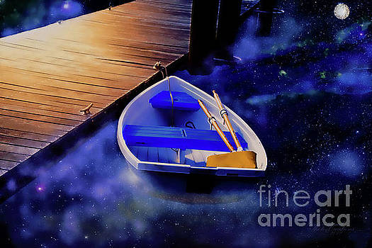 Space Boat by Inspirational Photo Creations Audrey Woods