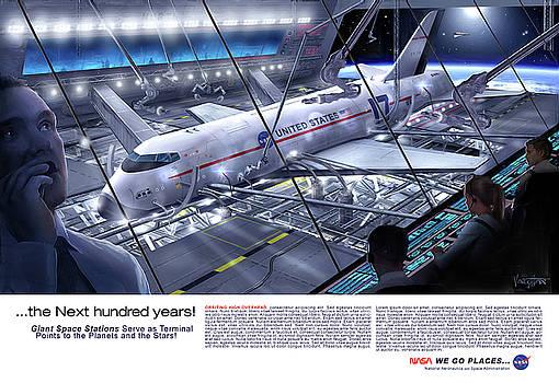 James Vaughan - Space Dock - text