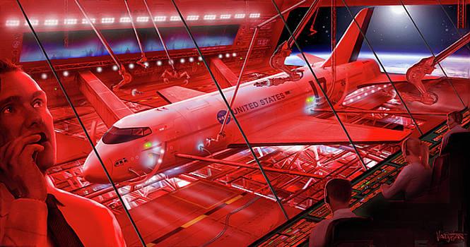 James Vaughan - Space Dock - red