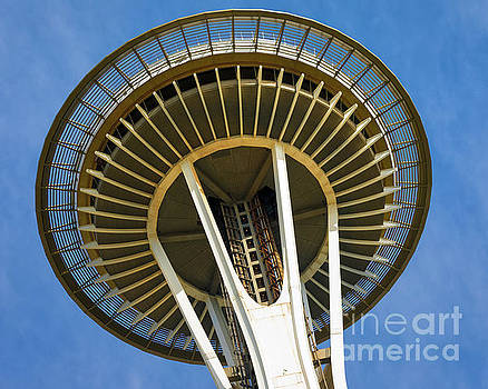 Space Needle 1 by Jerry Fornarotto