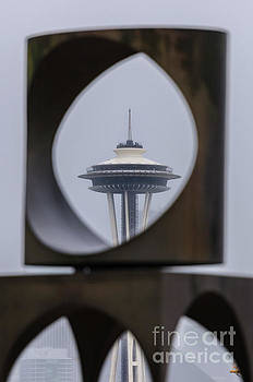 Paul Conrad - Space Needle Changing Form