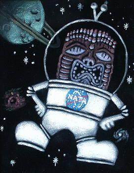 Space Tiki by Diane Bombshelter