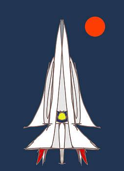 DENNY CASTO - Spaceship