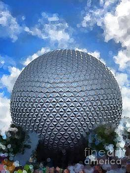 Spaceship Earth at Epcot by Paul Wilford