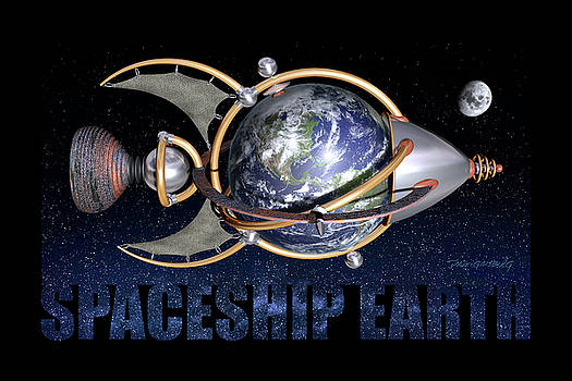 Spaceship Earth by Dave Ginsberg