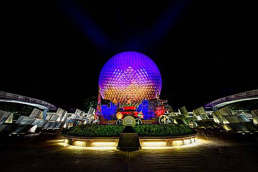 Spaceship Earth, Epcot, Walt Disney World by James Wellman