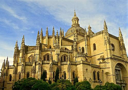 Spanish Cathedral by Rita Mueller