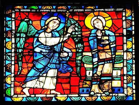 Spanish Church Window by Digital Art Cafe