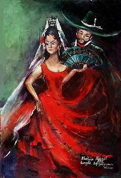 Spanish Dancers by Khatuna Buzzell