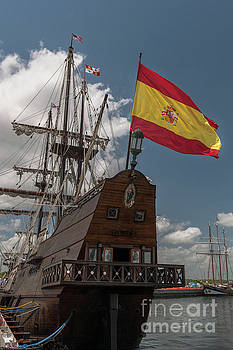 Dale Powell - Spanish Galeon Sailing Vessel