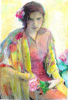 Lydia L Kramer - Spanish Girl in Shawl