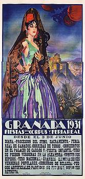 Spanish Granada - Poster by Roberto Prusso
