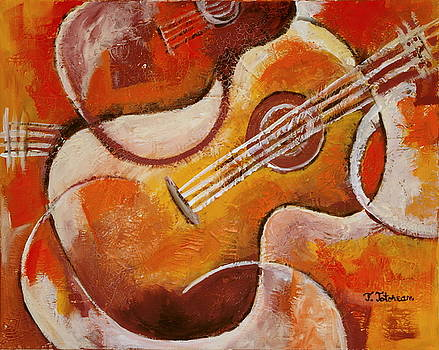 Spanish Guitar by Teodora Totorean
