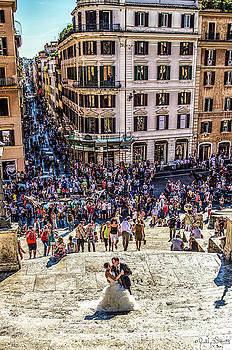 Julian Starks - Spanish Steps Couple #2