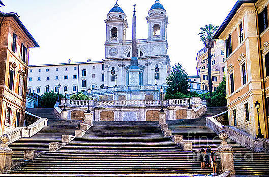 Julian Starks - Spanish Steps Early Morning