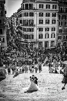 Julian Starks - Spanish Steps Wedding couple