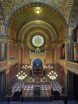 Spanish Synagogue. Prague spring 2017 by Jouko Lehto