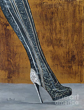 Sparkle Kinky Boot by Laurel Best