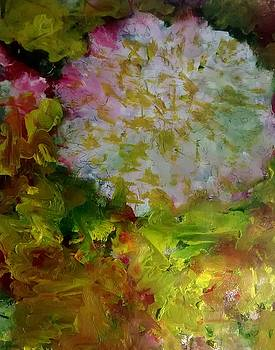 Sparkling Fiery Holiday Carnation by Patricia Taylor