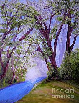 Sparkling River by Eloise Schneider Mote