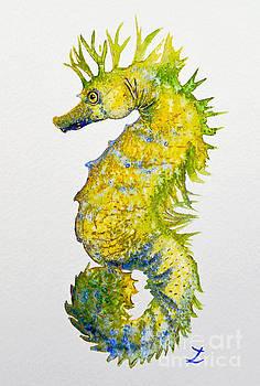 Zaira Dzhaubaeva - Sparkling Seahorse