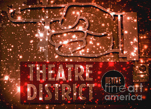 Tracy Brock - Sparkling Theater Sign