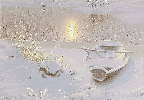 Sparkling Winter Landscape With Echo by MotionAge Designs