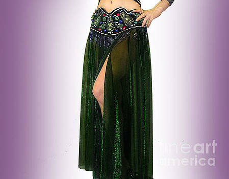 Sofia Metal Queen - Sparkly skirt. Ameynra belly dance fashion 9