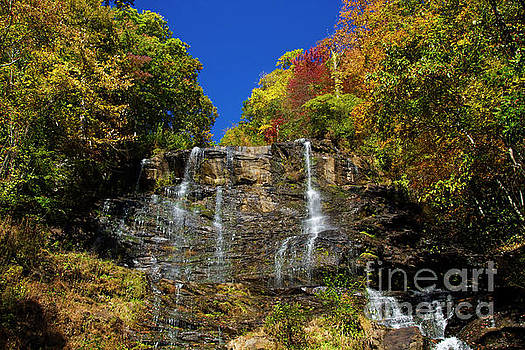 Barbara Bowen - Spectacular Fall Color at Amicalola Falls