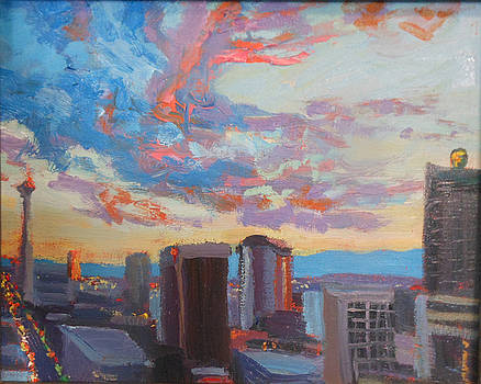 Kathleen Strukoff - Spectacular Vegas Downtown Sky