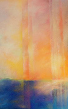 Spectral Sunset by Barbara Jacobs