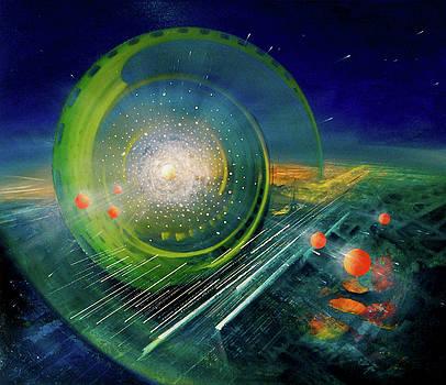 Sphere Ac  by Drazen Pavlovic