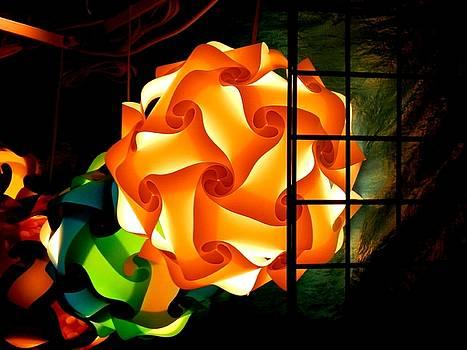 Spheres of Light Electrified by Deborah Kunesh