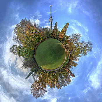 Spherical Panorama Park and Euromast by Frans Blok