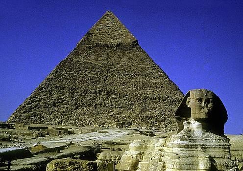 Gary Wonning - Sphinx and Pyramid