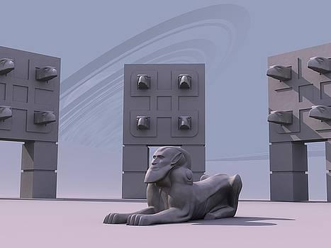 Sphinx by Mariusz Loszakiewicz