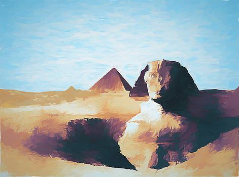 JS Stewart - Sphinx and Pyramids