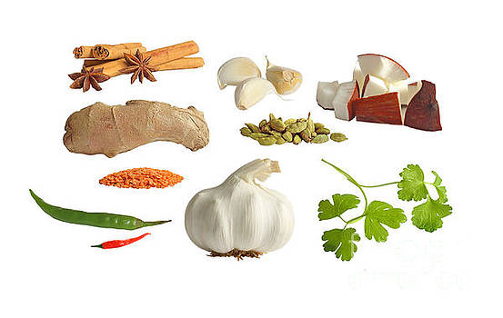 Spices by Susan Wall