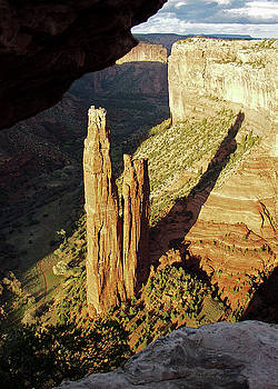 Spider Rock, Canyon de Chelly by Jeff Brunton