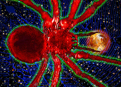 James Temple - Spiders In Space - Global Prey