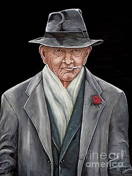 Spiffy Old Man by Judy Kirouac