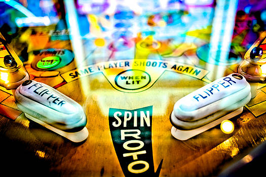 Spin Roto - Pinball Machine by Colleen Kammerer