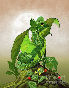 Spinach Dragon by Stanley Morrison