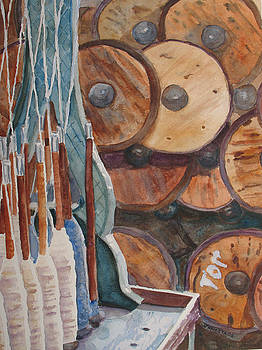 Jenny Armitage - Spindles and Spools