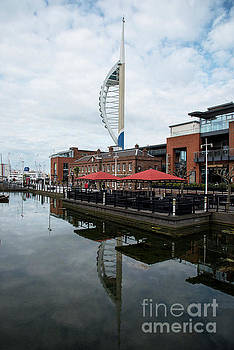 Spinnaker Tower Portsmouth by Chris Thaxter