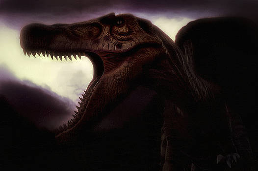 Spinosaurus - Dinosaur - Cretaceous by Jason Politte