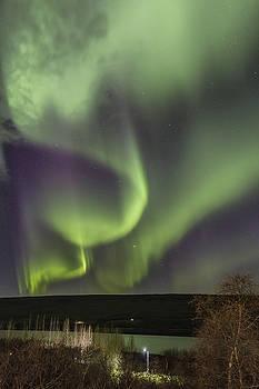 Spiral aurora by Hitendra SINKAR