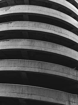 Spiral - Black and White Architecture by Dylan Murphy