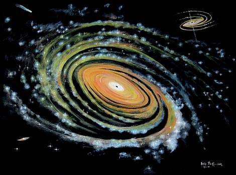 Spiral Galaxy Light of Heaven by Bob Patterson