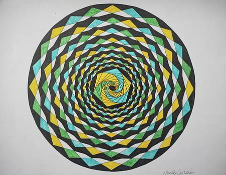 Spiral game by Jesus Nicolas Castanon